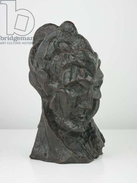 Head of a Woman (Fernande), autumn 1909 (bronze)