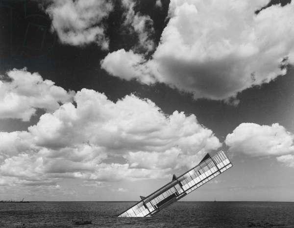 The Titanic, 1978 (photomontage on paper)