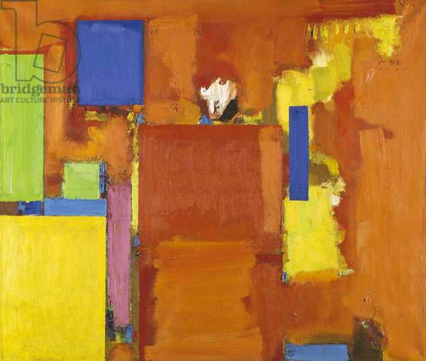 The Golden Wall, 1961 (oil on canvas)