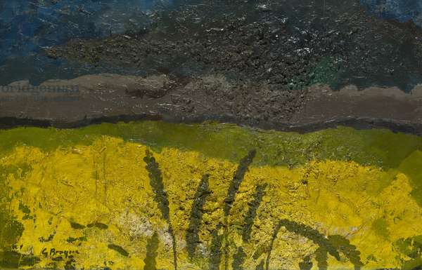 Wheatfield, c.1951 (oil on canvas)