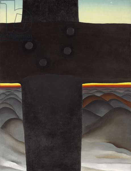 Black Cross, New Mexico, 1929 (oil on canvas)