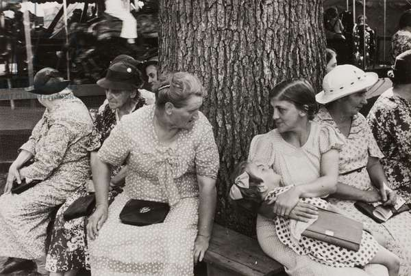 Farm People at the Fair, Central Ohio, 1938 (gelatin silver print)