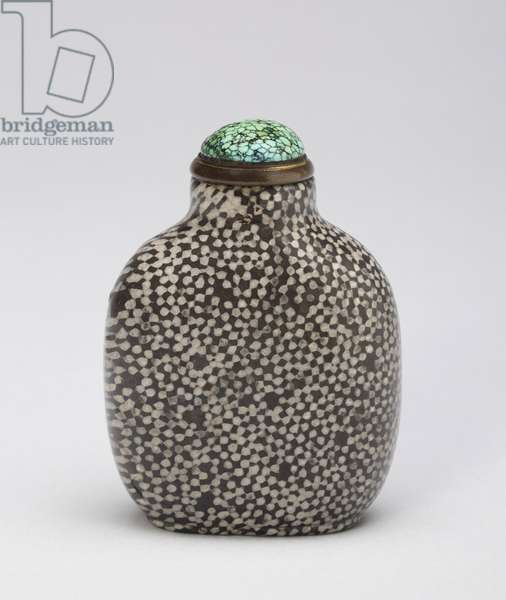Snuff Bottle (fossil coral)