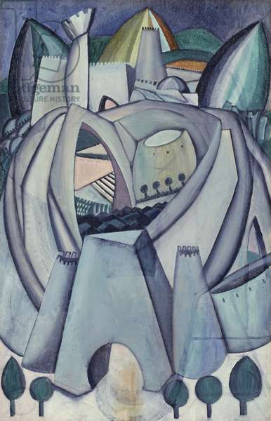 The Stronghold, c.1912 (oil on canvas)