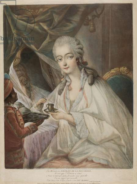 Madame du Barry, 1771 (colour aquatint on paper)