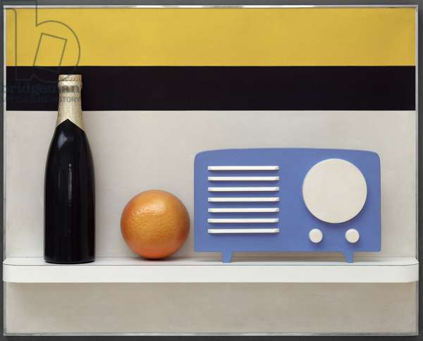 Still Life #41, 1964 (synthetic polymer paint on wood & plastic)