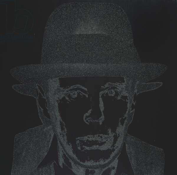 Diamond Dust Joseph Beuys, 1980 (silkscreen ink & diamond dust on synthetic polymer paint on canvas)