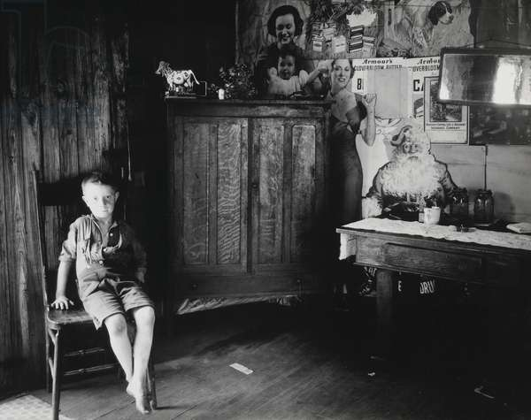 Coal Miner's House, Scott's Run, West Virginia, 1935, printed c.1970 (gelatin silver print)