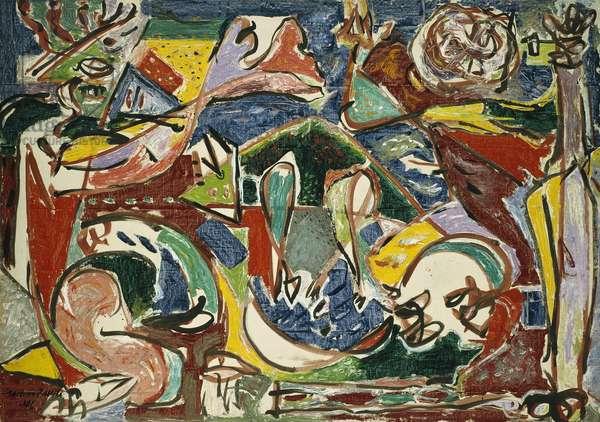 The Key, 1946 (oil on linen)