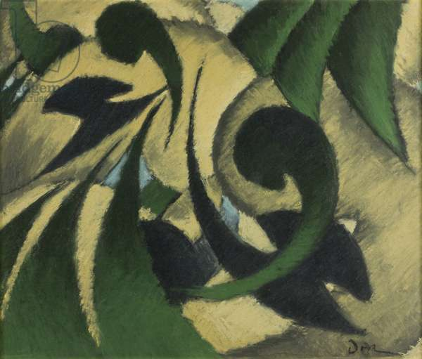 Nature Symbolized No. 2, c.1911 (pastel on paper on masonite)