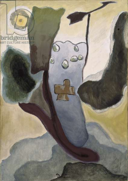 Cross and Weather Vane, 1935 (oil on canvas)