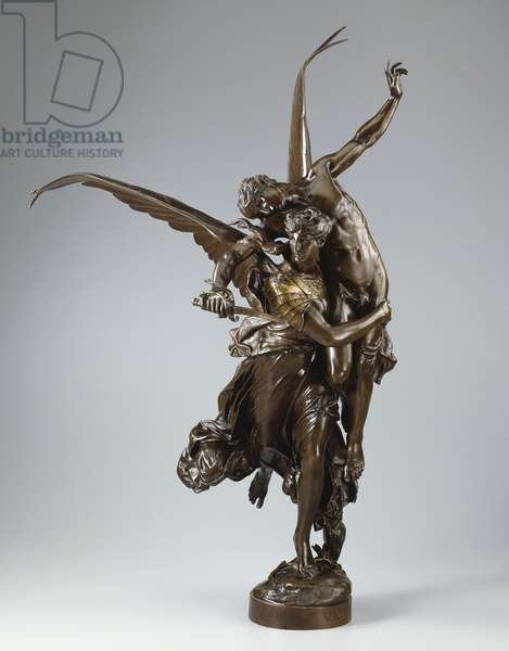 Gloria Victis, c.1873 (bronze with light brown patina)