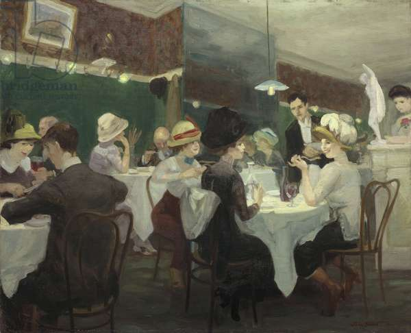 Renganeschi's Saturday Night, 1912 (oil on canvas)