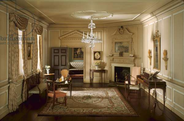 A21: Virginia Parlor, 1758-87, c.1940 (mixed media)