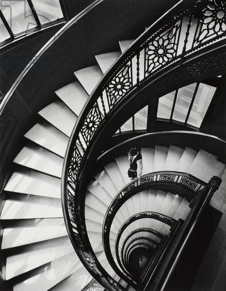 Untitled (The Rookery, staircase), 1950-72, printed 1973 (gelatin silver print)