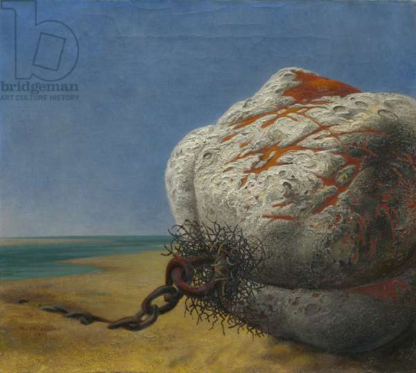 Buoy, 1941 (oil on canvas)