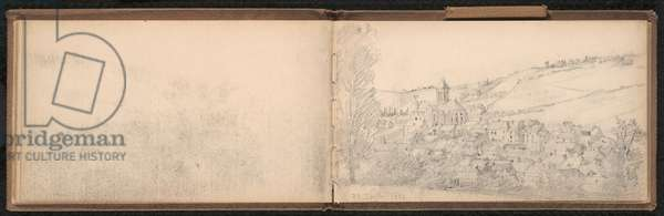 28th July 1884, page from a sketchbook, June 1883–September 1887 (graphite on paper)
