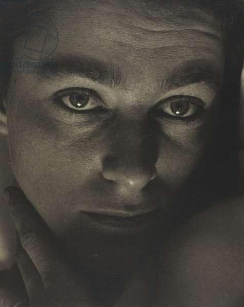 Rebecca, 1923 (platinum print)