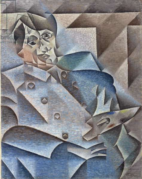 Portrait of Pablo Picasso, January-February 1912 (oil on canvas)