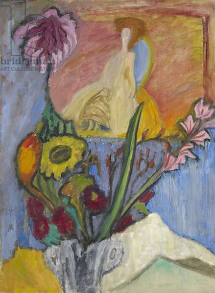 Still Life with Queen, 1912 (oil on canvas)