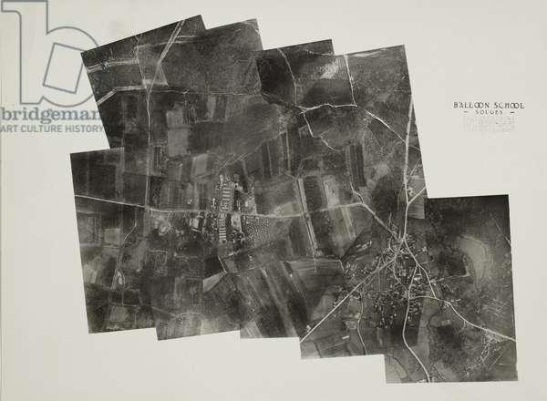 Balloon School, Souges, February 1919 (gelatin silver print)