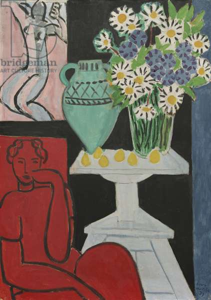 Daisies, 16th July, 1939 (oil on canvas)