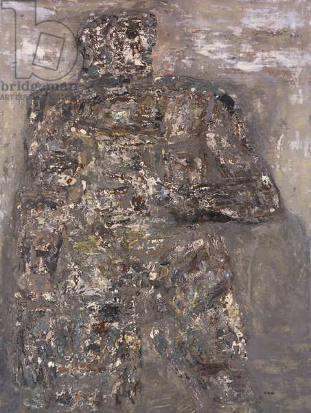 Colossal Figure, 1961 (lacquer on canvas)