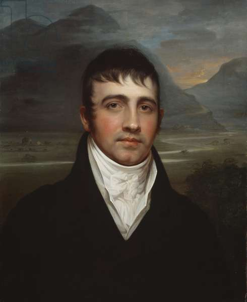 Samuel Fisher Bradford, 1803/08 (oil on canvas)
