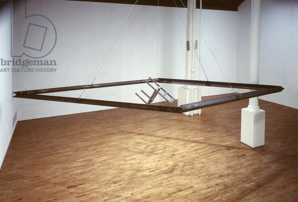 Diamond Africa with Chair Tuned D E A D, 1981 (steel & cast iron)