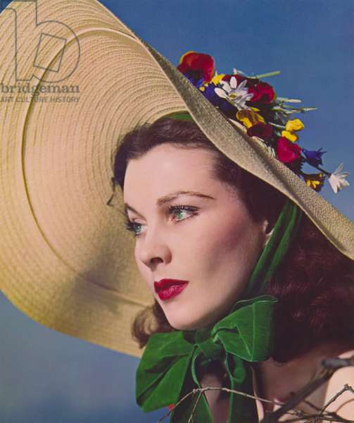 Vivien Leigh in the Role of Scarlett O'Hara, 1939 (dye transfer print)