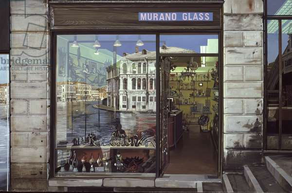 Murano Glass, 1976 (oil on canvas)