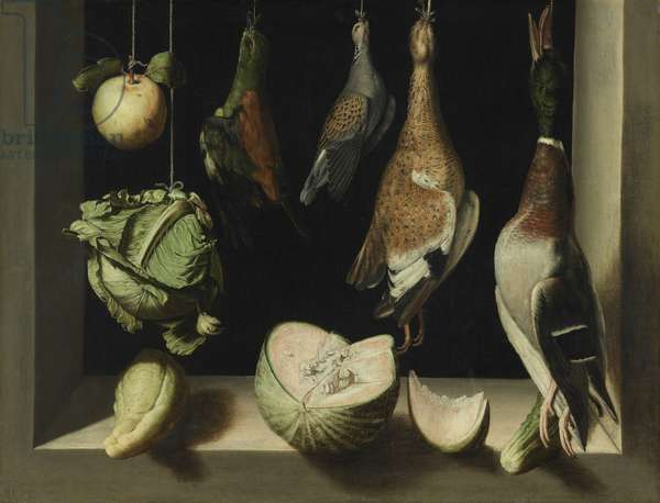 Still Life with Game Fowl, 1600-03 (oil on canvas)