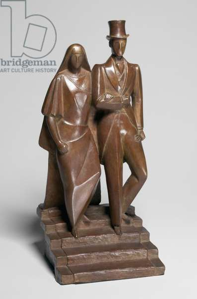 London Wedding, c.1924 (bronze)