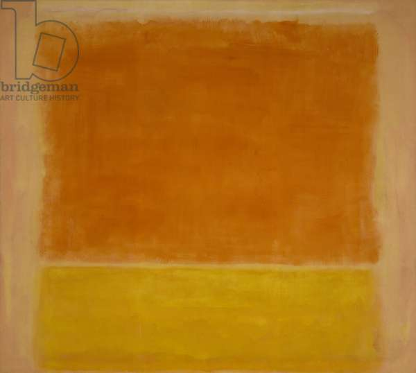 Untitled (Painting), 1953-54 (oil on canvas)
