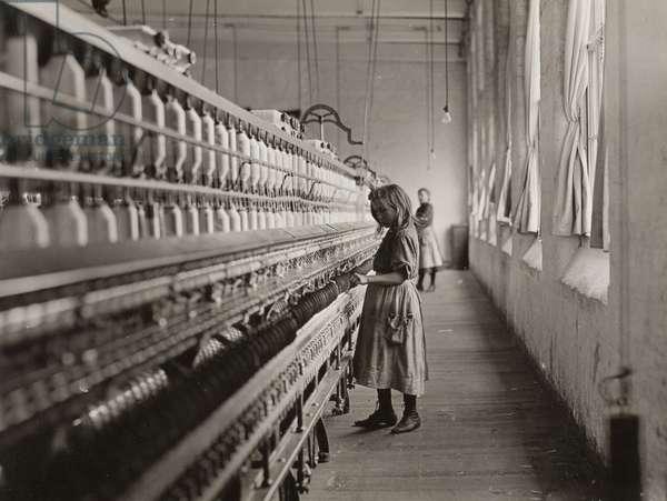 Sadie Pfeifer, a Cotton Mill Spinner, Lancaster, South Carolina, 1908 (gelatin silver print)