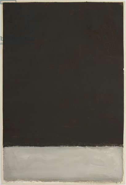 Untitled, 1969 (acrylic on paper)