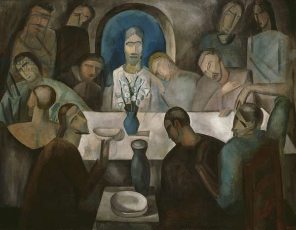 The Last Supper, 1911 (oil on canvas)