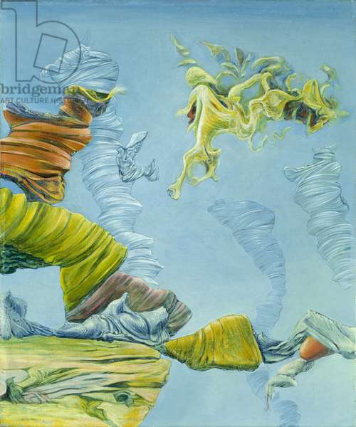 Melusine and the Great Transparents, 1943 (oil on canvas)