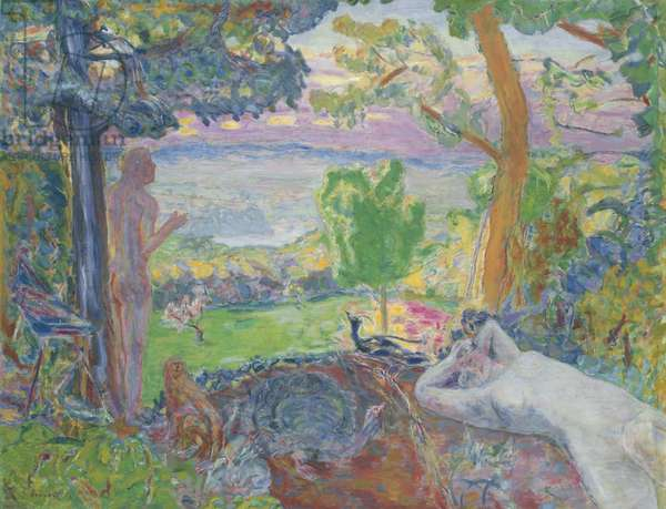 Earthly Paradise, 1916-20 (oil on canvas)