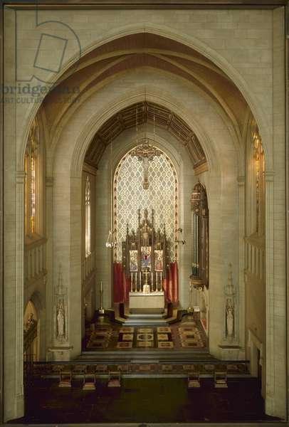 English Roman Catholic Church in the Gothic Style, 1275-1300, c.1937 (mixed media)