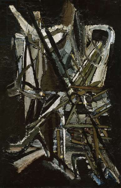 Composition, 1946 (oil on canvas)