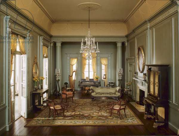 South Carolina Ballroom, 1775-1835, c.1940 (mixed media)