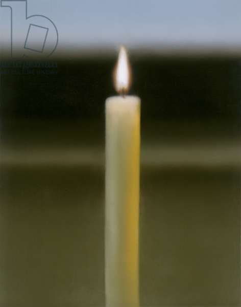 Candle (Kerze), 1982 (oil on canvas)