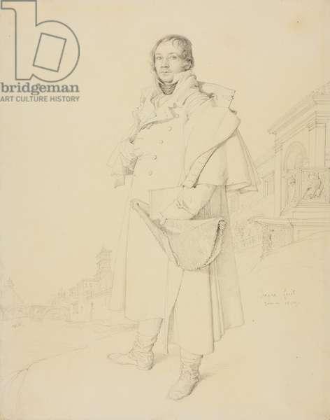 Charles François Mallet, Civil Engineer, 1809 (graphite on paper)