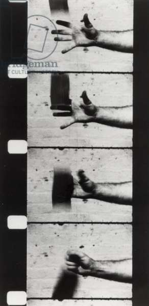 Hand Catching Lead, 1968 (16mm b/w film)