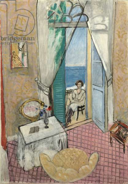 Interior at Nice, 1919 or 1920 (oil on canvas)