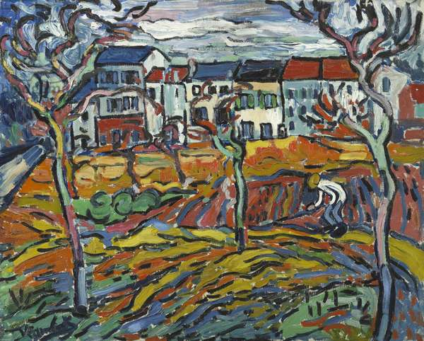 Houses at Chatou, c.1905 (oil on canvas)
