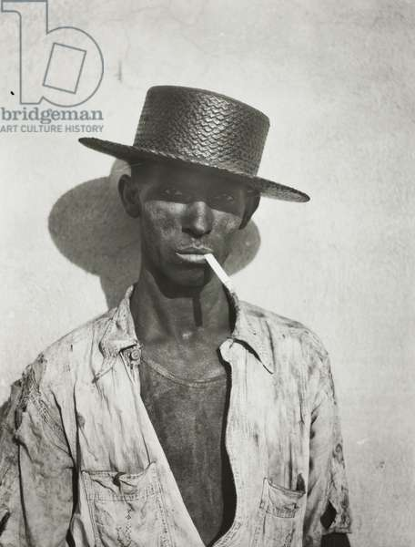 Coal Stevedore, Havana, 1933, printed c.1970 (gelatin silver print)
