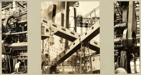 Industry, 1927 (gelatin silver collage)