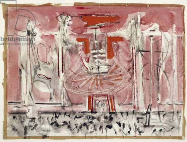 Untitled, c.1944 (w/c, tempera & graphite on paper)
